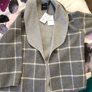 BNWT Cashmere sweater coat